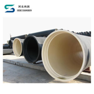 Duktiles nahtloses Rohr des ISO2531 Roheisen-Rohr-K9 für Wasserversorgung