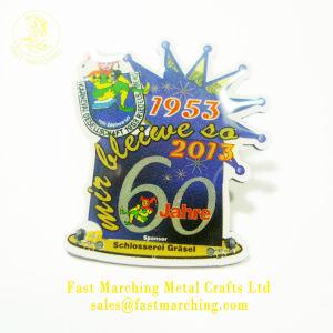 昇進の習慣Pinの紋章の磁石ボタンの物質的な帽子のイベントのバッジ