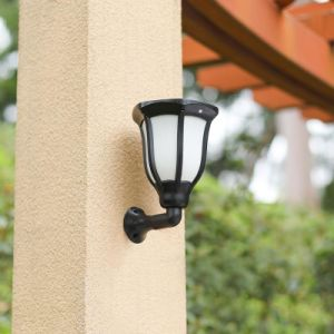 Сад солнечной энергии 96 светодиодный светильник солнечного освещения пламени лампы Водонепроницаемый светодиодный индикатор Беспроводной ландшафт