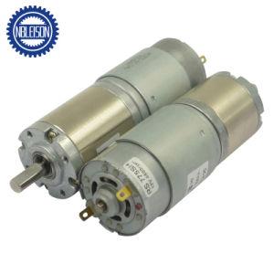 A bajas revoluciones del motor eléctrico DC 775 Caja de engranajes planetarios de 42mm 120kg. Cm.