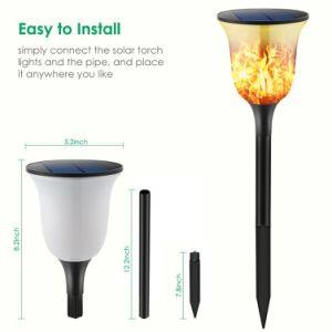 LED-romantische Atmosphären-Feier-Shinning flackerndes Solarbodenlicht