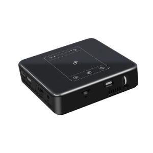 iPhone DLP-Miniprojektor, Elephas-hohe Helligkeit Pico video Ableiter-Karte Handelsideal Projektor-Unterstützungs1080p HDMI USB-TF Mikro-für Lager-Hinterhof-im Freienfilm-Nacht H