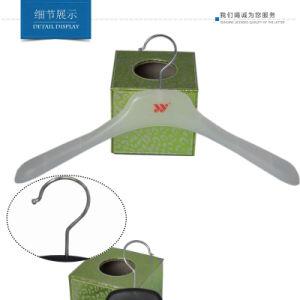 17 Zoll erwachsener Luxuxmantel-Plastikkleidung-Aufhängungs-