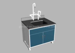 Banco chimico del dispersore del laboratorio con il montaggio del damerino