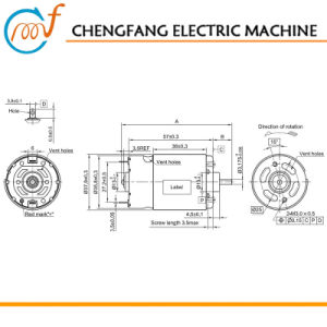 Motor eléctrico 24V-558RS vhj motor DC2-3134 para la...