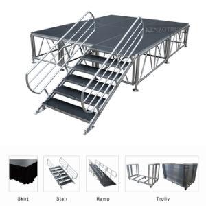 Bastidor de aluminio fabricante profesional de la plataforma de la etapa de madera