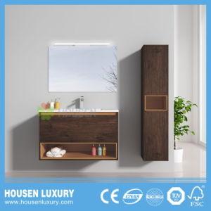 Moderne Art-Badezimmer-Möbel mit dem Melamin beendet und LED HS-E1102-800-2