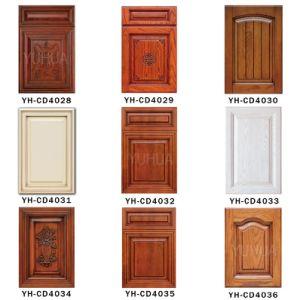 寝室のカシの家具によってカスタマイズされる木の食器棚のドア(YH-CD4003)