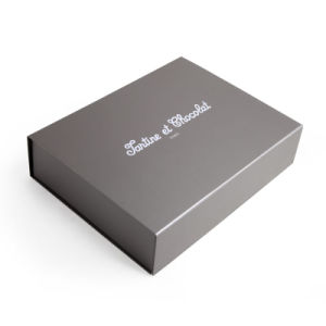 주문 로고 은에 의하여 인쇄되는 서류상 마분지 Foldable 선물 수송용 포장 상자