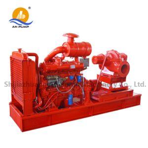 Motor diesel bomba de agua de riego agrícola para la granja