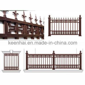 Rete fissa di alluminio decorativa del giardino di disegno moderno per la villa