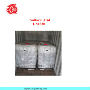 H2so4 van het zwavelachtige Zuur 98% Technische Rang