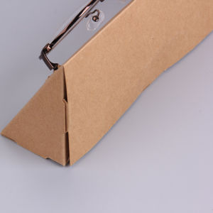 Pakket van de Zonnebril van Kraftpapier van de Ontwerper van Sinicline het Milieuvriendelijke Natuurlijke Materiële Gehele Vastgestelde