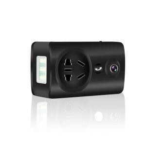 180度のパノラマ式の無線WiFiのスマートなソケットIPの保安用カメラ