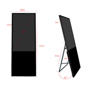 Barramento HD TV Monitor do Mostrador Digital Signage Placa Menu Publicidade leitor de tela LCD