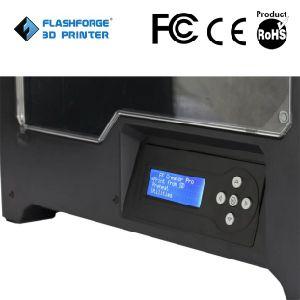 Flashforge Creator Pro impresora 3D con doble de la extrusora, Full Metal del cuerpo de bastidor, ABS filamento.