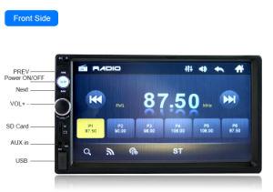 giocatore di multimedia di Bluetooth MP5 di BACCANO 7inch 2