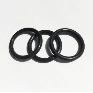Black Nitrile Rubber Silicone O - Ring Support Customization