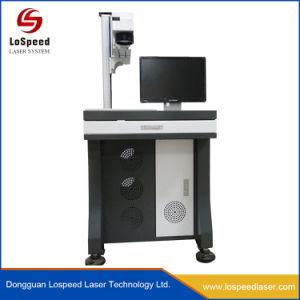 De Brandmerkende Machine die van het Instrument van het Systeem van de Gravure van de laser Embleem, Naam, Merk merken