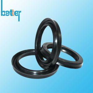 고무 Silicone/EPDM/Neoprene/Viton 입술 또는 플랜지 또는 둥근 O 반지 또는 Gasktet 로드 피스톤 물개