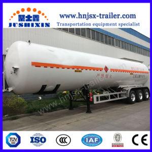 O Gás Natural Liquefeito do tanque de transporte de GNL petroleiro de GNL semi reboque