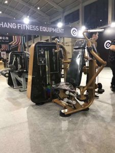 低の体操機械胸のはえ機械9001適性装置