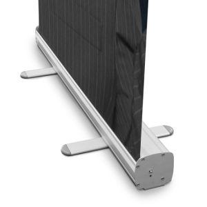 Espalda gris de la película de PET de Banner Roll up Stand