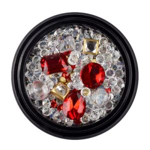 Cristal Estilo misto de alta qualidade cordões Rhinestone Nail Designs de arte