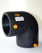HDPE Electrofusion 90度の肘の管付属品