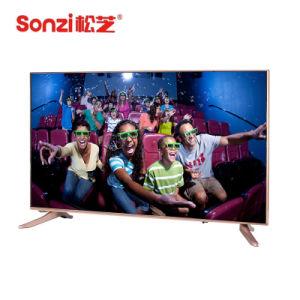 50 Inchi intelligenter LED Fernsehapparat mit Hartglas-Unterstützungs-Soem-ODM