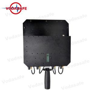 De Draagbare 6baste Stoorzender/Blocker van de hoge Macht, die de Macht voor van Al Mobiele Output 3G/2g (GSM/CDMA/DCS) blokkeren/4glte/Gpsl1 van de Telefoon 80W; Straal 20100m van de dekking