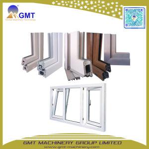 Linea di produzione di plastica dell'espulsore di profilo del blocco per grafici di portello della finestra del PVC UPVC di serie di Yf