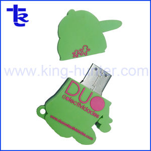 Silicio de goma personalizados en PVC unidad Flash USB unidad USB