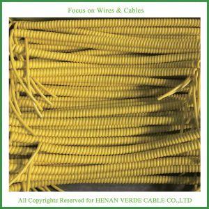 Venda a quente 0,25mm 0,35 mm 0,75mm de fios enrolados cabo em espiral