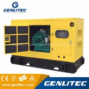 Cummins 4BTA3.9-G2エンジン40kw 50kVAの防音のディーゼル発電機セット
