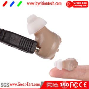 De mini Versterker Itc van de Hoorzitting van het Gehoorapparaat Navulbare Digitale voor de Gezondheidszorg van de Hulp van het Oor van Oudsten