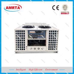 Unidade de encapsulamento no piso superior do sistema de ar condicionado para edifícios