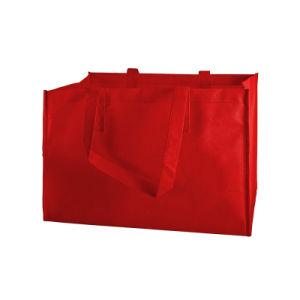 Regalo promocional barato ir de compras no tejido Bolsa Tote Bag (YH-NWB076)