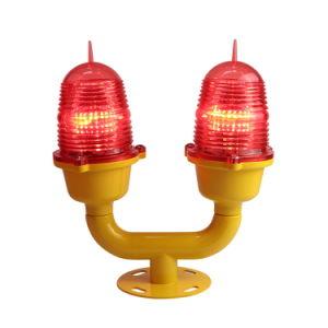 赤を出す二重障害物表示燈の低強度