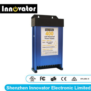 12V 400W Fuente de alimentación Rainproof LED de luz LED, certificada por Ce