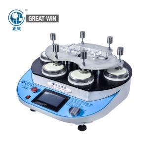 DIN-53863 máquina de ensayo Martindale abrasión/Crock probando la máquina (GW-031B)