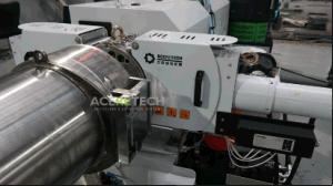 extrudeuse monovis en plastique dans le film plastique granulateur MACHINE DE RECYCLAGE