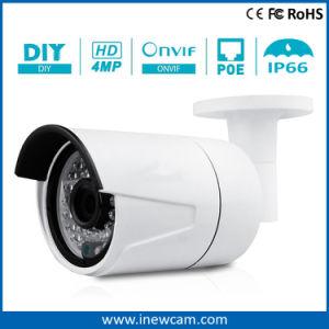 4MP OpenluchtPoe IP van de Kogel van de Huisvesting van het metaal Camera