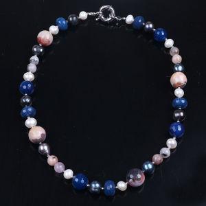 Bisutería de diseño más reciente Collar de perlas