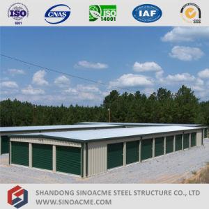 Sinoacme fabricado de acero de bajo coste de almacenamiento de la estructura de la construcción