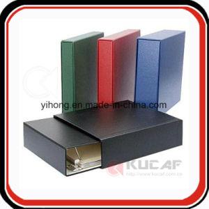 Slipcase를 가진 주문 최신 각인 로고 PU 바인더 프리젠테이션 서류철