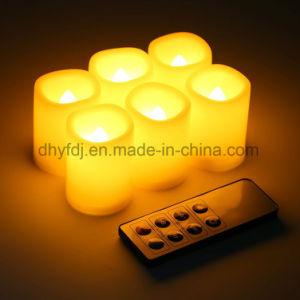 Mini-Cintilação Flameless Vela LED acende para Dom