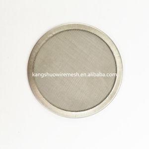 En acier inoxydable 304 300 microns lavable Ultra Fine des filtres à eau du filtre à café de disque à disque