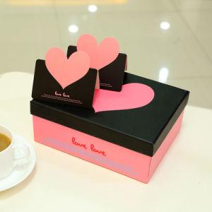 Vakje van het Document van de Gift van het huwelijk het Romantische