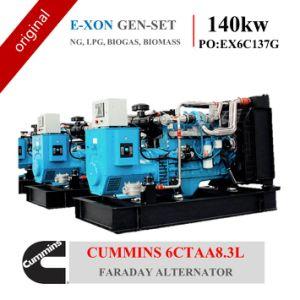 Gas Genset 140kw Cummins 6CT 8.3L (NG, LPG, BIOGAS, BIOMASSA)